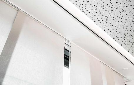Sicht- und Sonnenschutz für Beratungsräume Büschking Raumkonzept Heeslingen