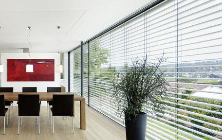 Raffstore Außenraffstore Blendschutz für alle Innenräume Büschking