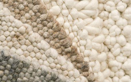 Trend neue Webteppiche aus Schurwolle Büschking