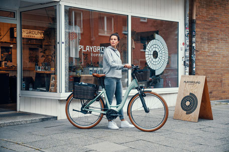 E-bikes von Riese und Müller bei Velo am Ostbahnhof in München