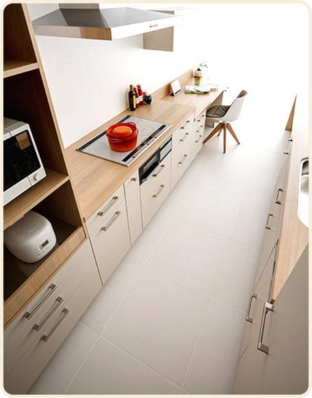 キッチンに求める機能は、 毎日使う人に合わせた使いやすさ