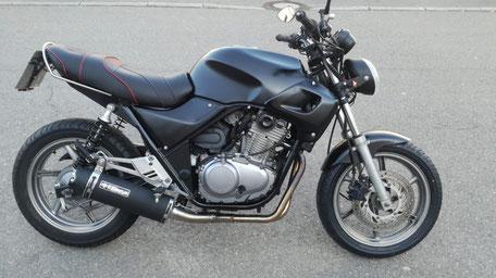 Heckumbau Honda CB 500