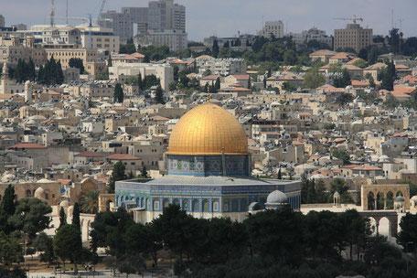 jérusalem dôme du rocher judaïsme monde arabo musulman mont des temples