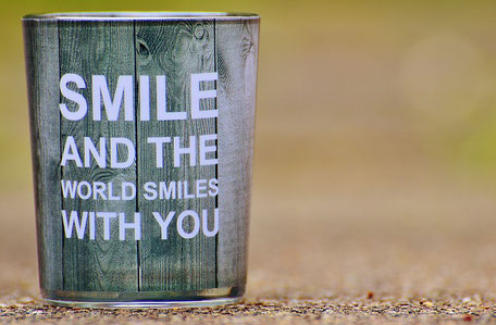 becher, smile and the world smiles with you