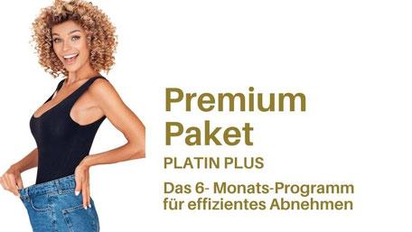 Premium Pakel PLATIN PLUS, Abnehmen mit Hypnose, virtuelles Magenband, MAgenbandhypnose, imaginäres Magenband, Virtual Gastric Band