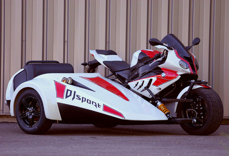 Nouveau side-car DJ Sport phase 2 / BMW 1000 RR