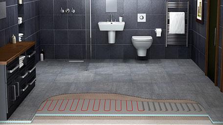 Fußbodenheizung Fliesen ~ Elektro fußbodenheizung fliesen becker pfinztal bei karlsruhe