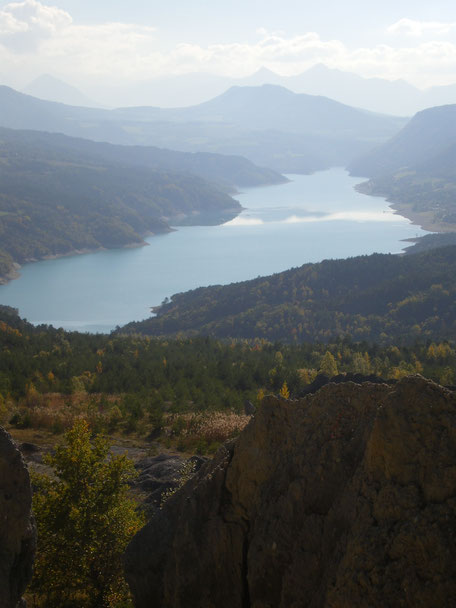 lac de monteynard avignonet vu de Sinard