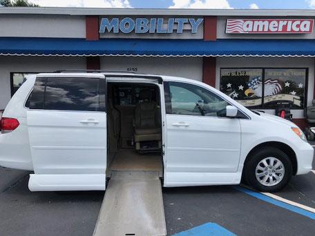 2008 Honda Odyssey Mobility Van