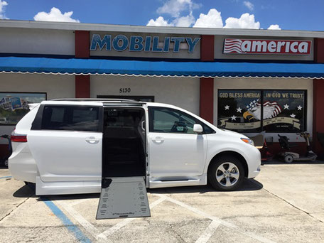 Toyota Sienna Wheelchair Van