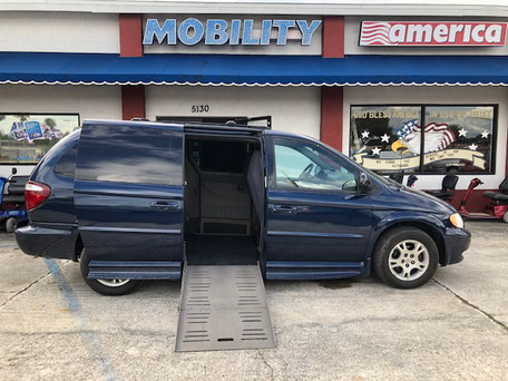 2002 Dodge Wheelchair Van For Sale
