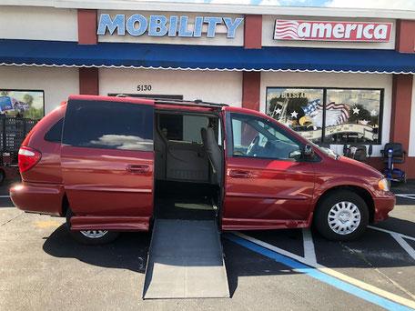 2002 Dodge Wheelchair Van For Sale