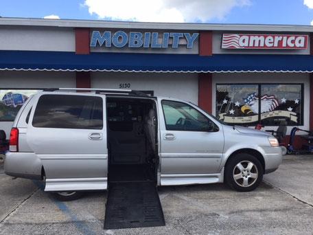 2007 Chevrolet Mobility Van For Sale