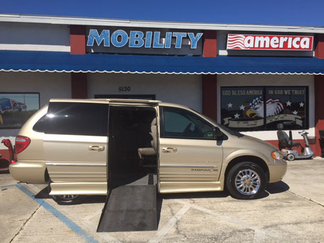 2001 Chrysler Mobility Van For Sale