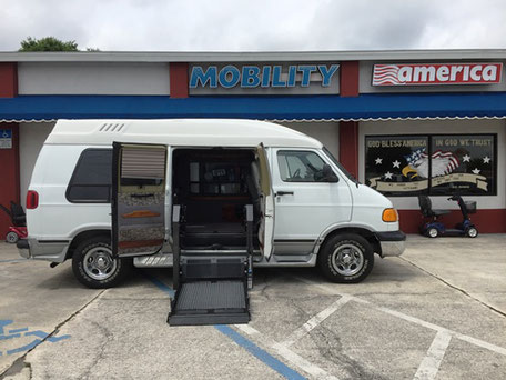2001 Dodge Ram 1500 Mobility Van For Sale