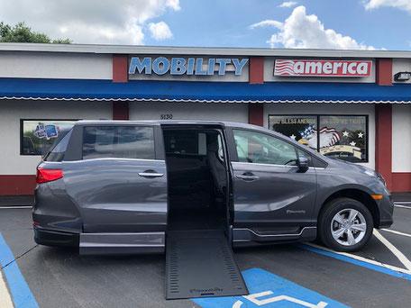 2019 Honda Odyssey Mobility Van