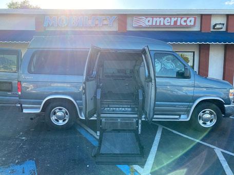 2014 Ford Wheelchair Van
