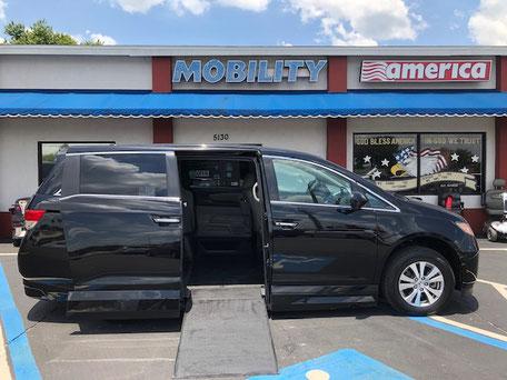2014 Honda Odyssey Mobility Van