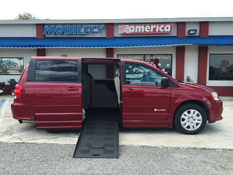 2016 Dodge Grand Caravan SE Wheelchair