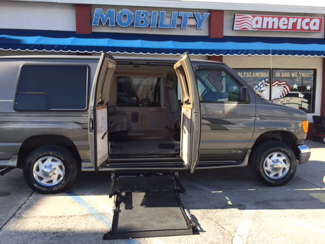 2004 Chevy Astro Wheelchair Van