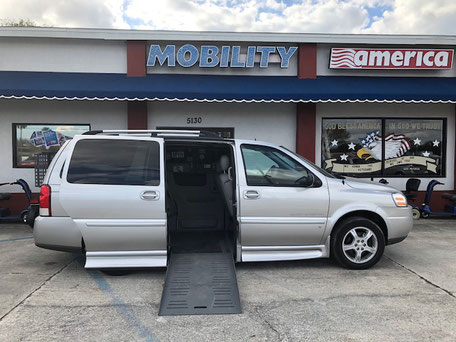 2008 Chevrolet Mobility Van For Sale