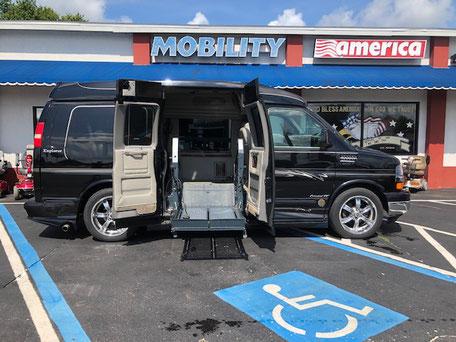 2009 Chevy Express Wheelchair Van