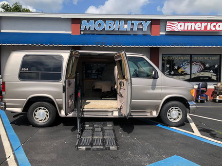 2002 Ford Wheelchair Van