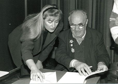 Jewgeni Chaldej, Fotograf und Kriegsberichterstatter, 1995