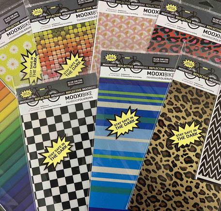 Reflektor Design Folie Racing reflektierend für das Fahrrad