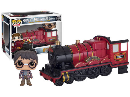 Hogwarts express engine con Harry Potter