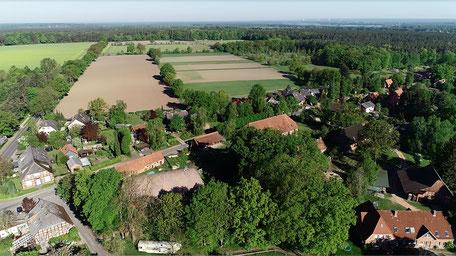 Felder, Wälder, die Elbe - alles in unmittelbarer Umgebung