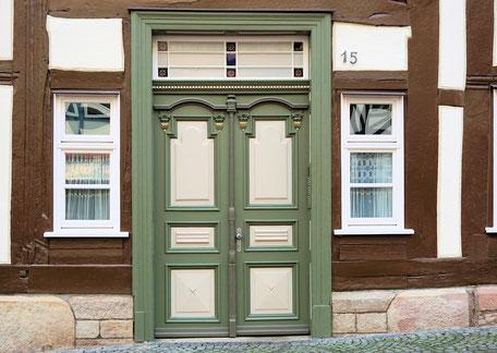 Holz Haustür, Holzhaustür in Linz, günstige Holzhaustür