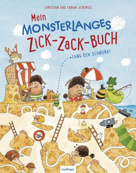 Mein monsterlanges Zick-Zack-Buch 07|2017 Esslinger