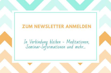 Zum Newsletter Wege zum Sein anmelden