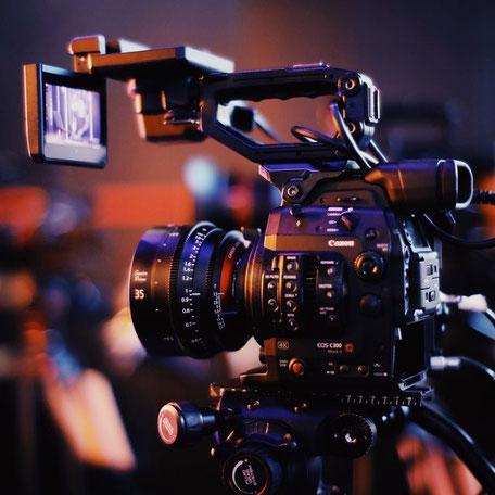 Videografen für Hochzeiten, Firmenfeiern und sonstige Events