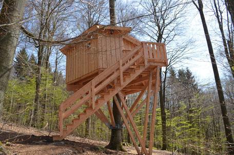 Baumhaus Kobel, Bild: Baumhaushotel Solling.