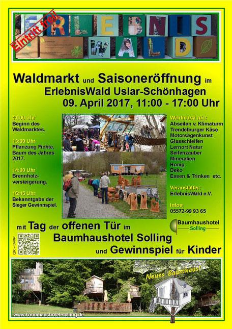 Waldmarkt uns Tag der offenen Tür