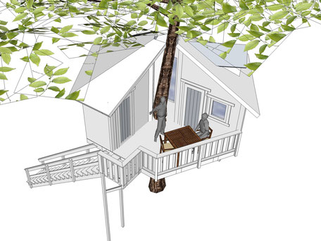 Neues Baumhaus