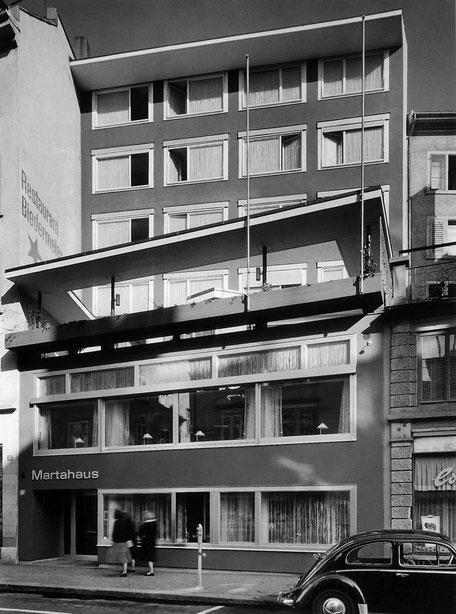 hotel marta, 1958 (Foto: Archiv  Stücheli Architekten)
