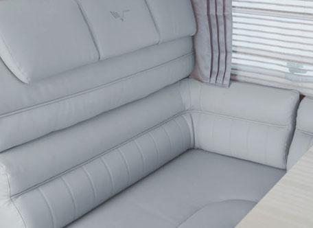 Polster K-Silver I Comfort Grey