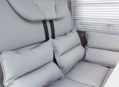 K-Silver Polster Comfort Grey