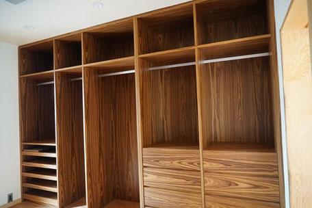 クローゼット 収納棚 オーダー家具