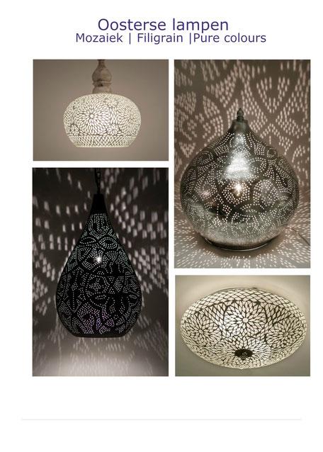 oosterse|filigrain|lampen|mozaiek|hanglampen|