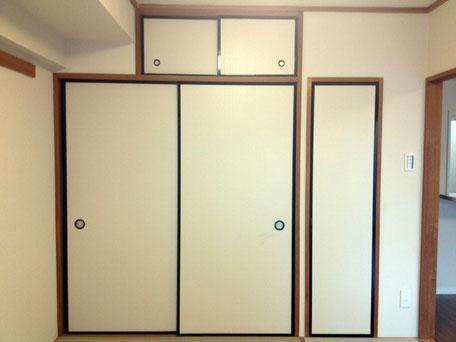 改修前の和室建具