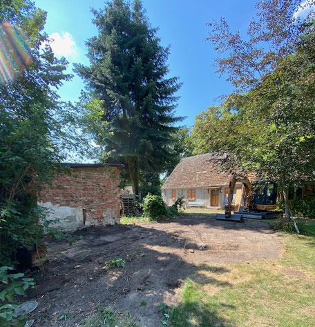 Dorfbackofen Altfriedland Baufortschritte