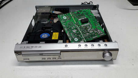 riparazione hi fi dolby surround toino video system