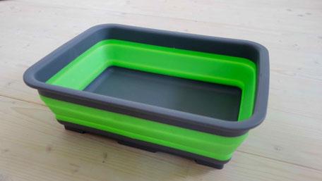 Faltbare Schüssel zum Abwaschen