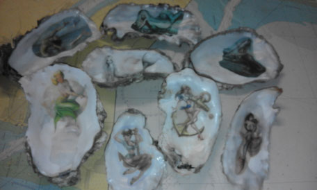 Meerjungfrauen in Austern by Strandräuber Kaltenhörn