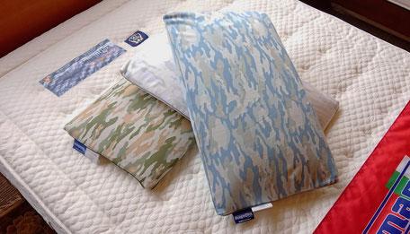 枕 フラットカモ magniflex / マニフレックスは、眠りのプロ 睡眠環境・寝具指導士がいるマニステージ福岡へ。