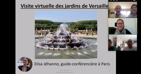 visioconférence Versailles pandémie